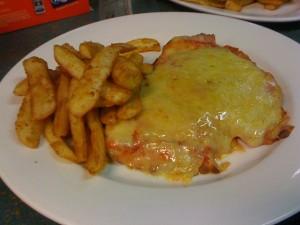 Chicken Parma