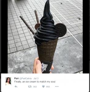 Black Ice Cream